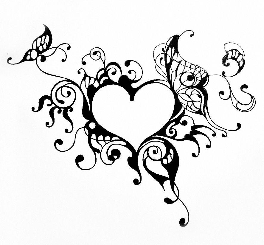 канал рисовать картинки сердечки с узорами анимация пары