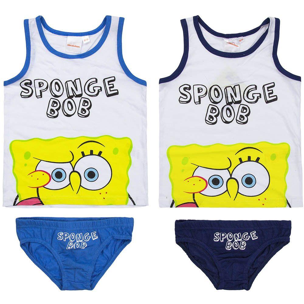 Spongebob KinderUnterwäscheSet Kleidung & Accessoires