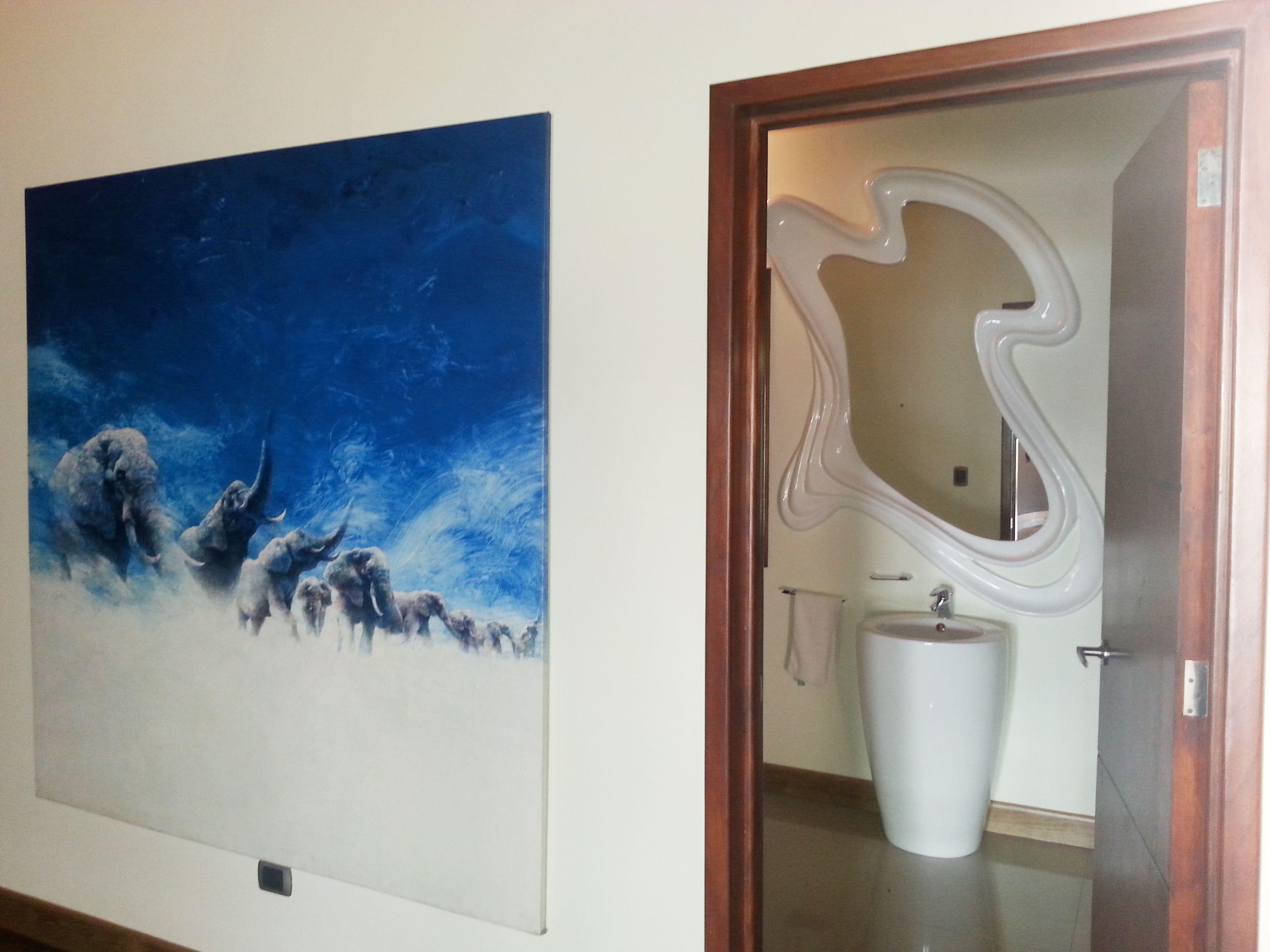 Baño moderno en el Caribe & obra de Juan Manuel Diaz Reinterpretando espacios. Xenia