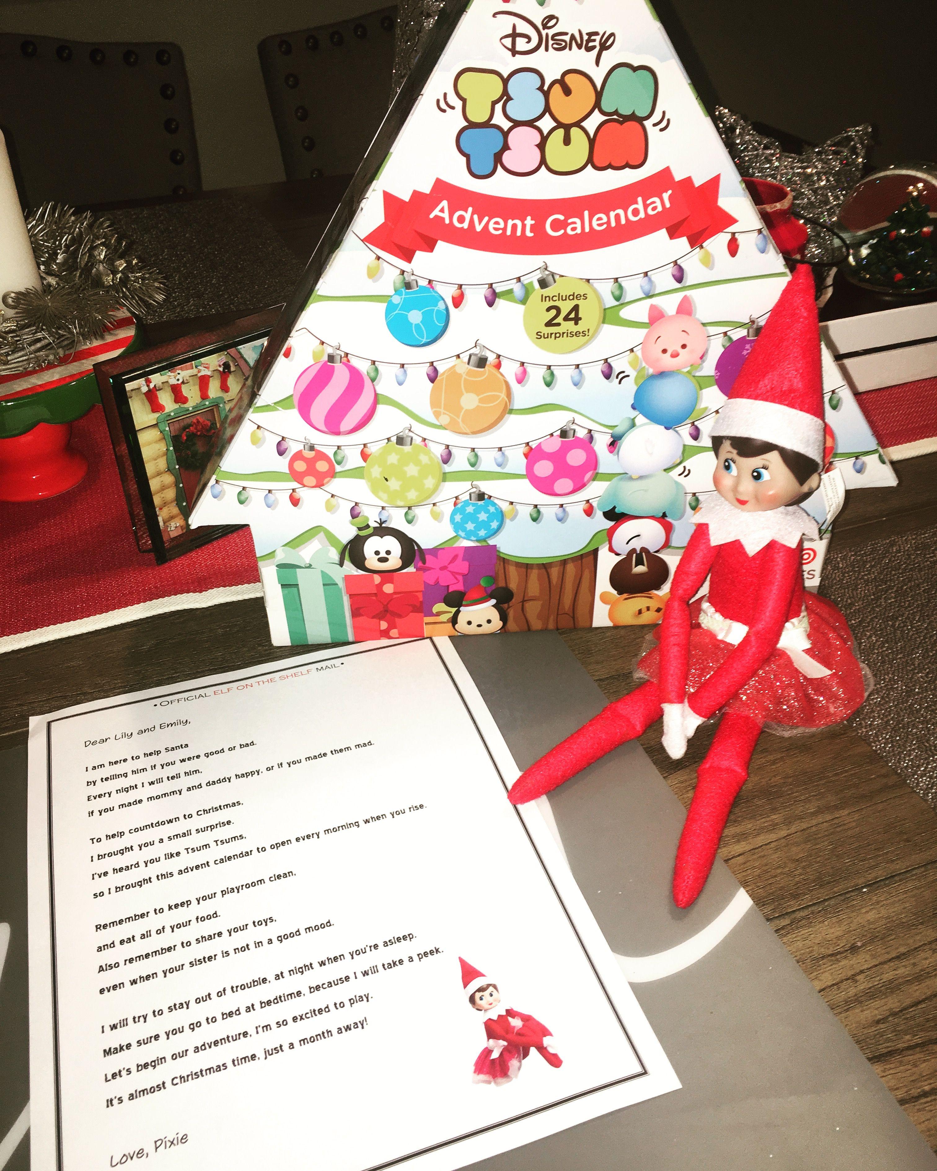 elf on the shelf arrival letter template uk