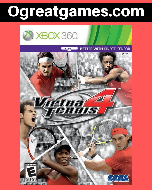 Virtua Tennis 4 Xbox 360 Xbox 360 Xbox Free