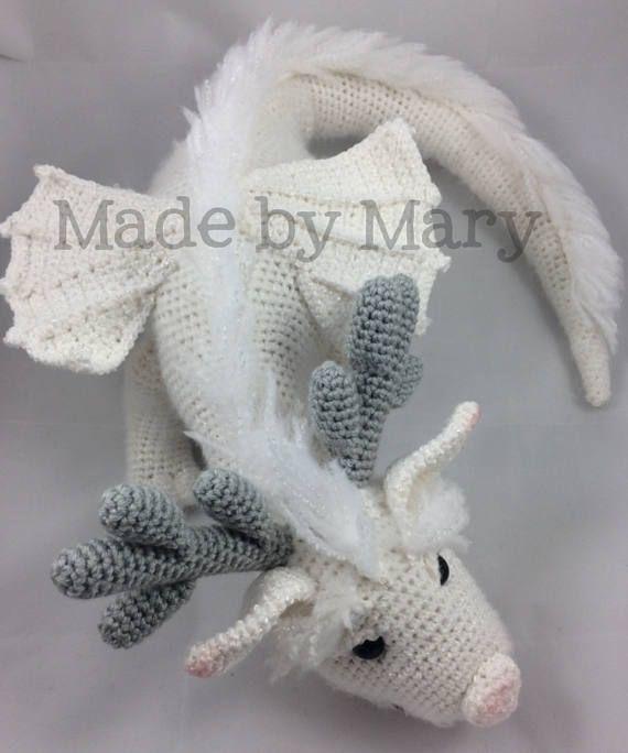 PDF Pattern: Winter Dragon Crochet pattern only not actual | crochet ...