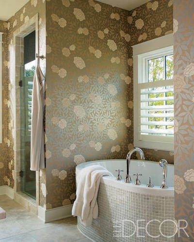 15 Whimsical Wallpaper Ideas For Your Bathroom Wallpaper ideas