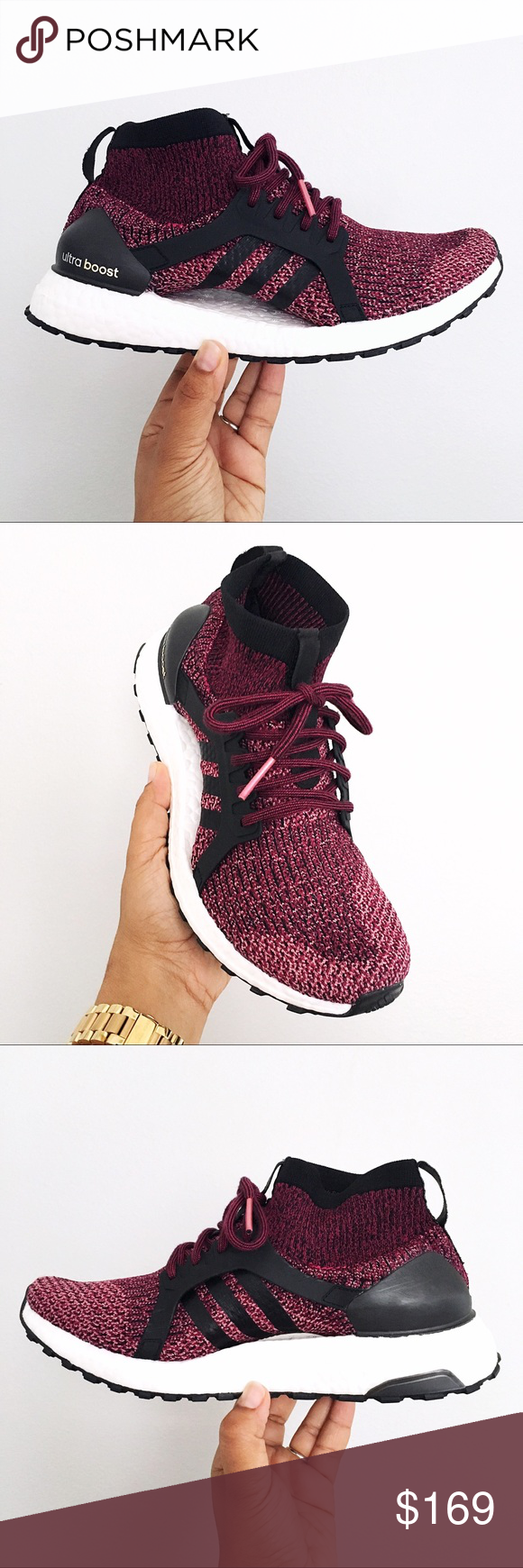 560190e3f Adidas UltraBOOST X All Terrain Women Mystery Ruby Brand Nee in Box with  Lid - Adidas