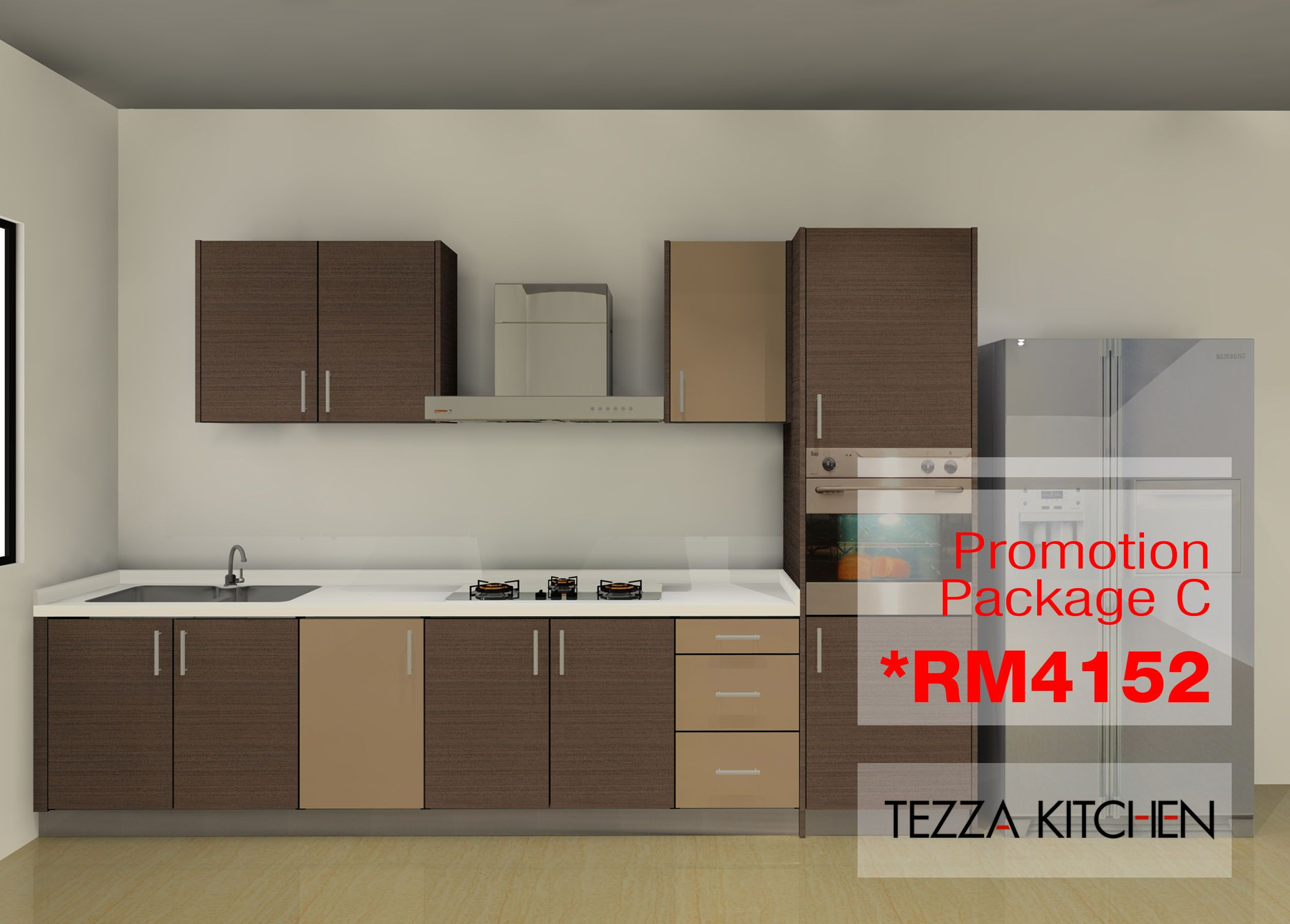 Package C Include Local Soft Close Mechanisme Include Local Solid Surface Yaxis Kitchen Cabinets Kitchen Cabinet