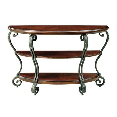 Fleur De Lis Living Kaye 19 Solid Wood Console Table In 2020