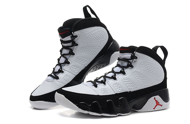 77a096a414f Air Jordan 9 Retro White/Black-True Red For Sale (Size 36~47) in ...