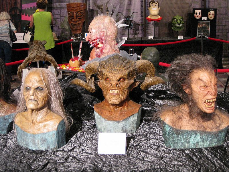 Makeups From Glenn Hetrick S Optic Nerve Studios Including A Demon Buffy The Slayer
