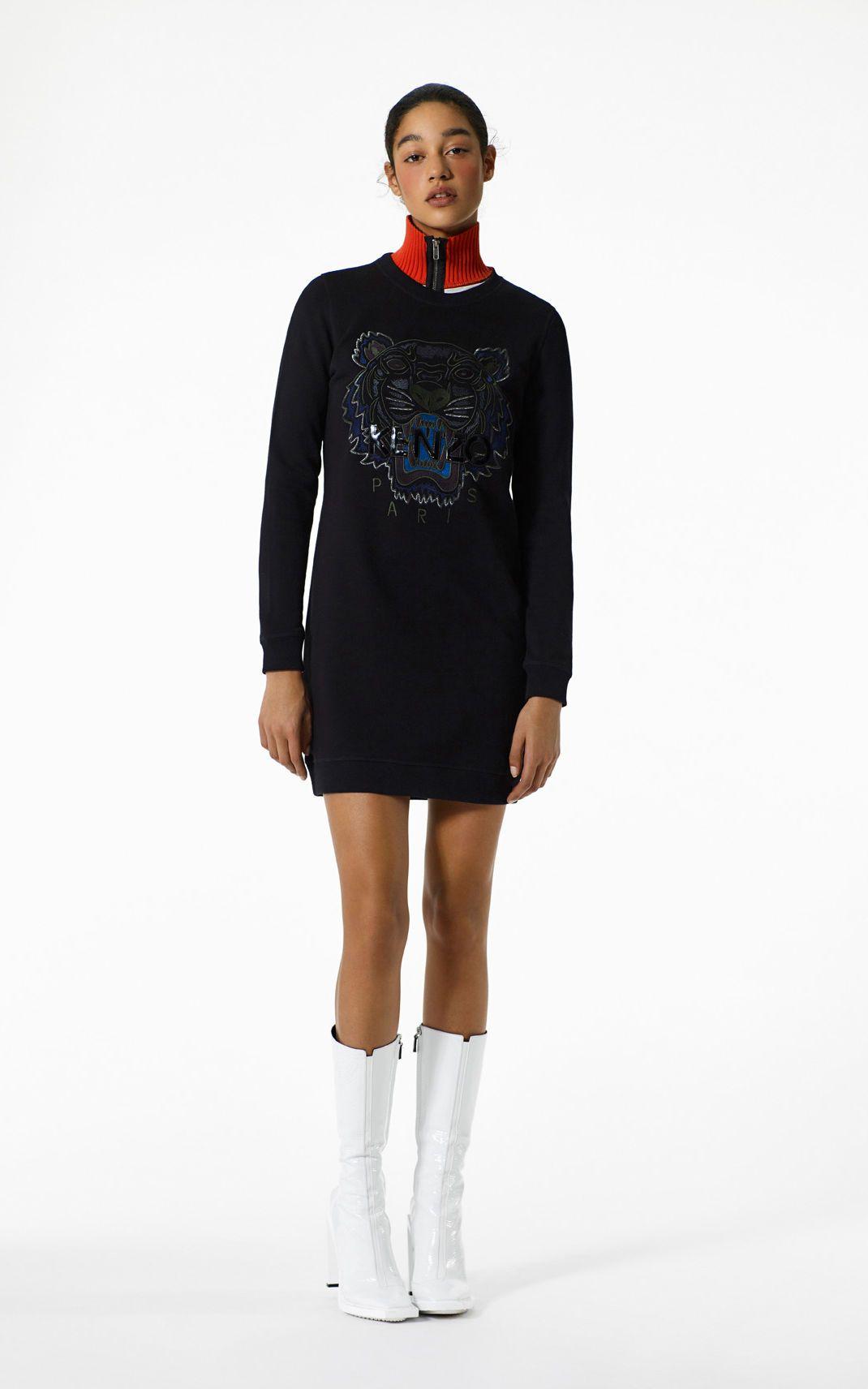 8831db39881 Tiger sweatshirt dress for Kenzo | Kenzo.com | Collect | Sweatshirt ...