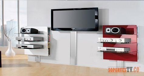 Para ocultar y organizar los cables de tu tv ya no es for Colgar tv pared sin soporte