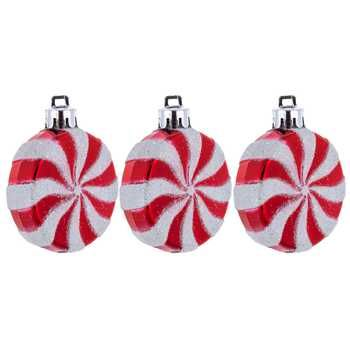 Red White Peppermint Candy Shape Ornaments Hobby Lobby Peppermint Candy Ornaments Art Craft Store