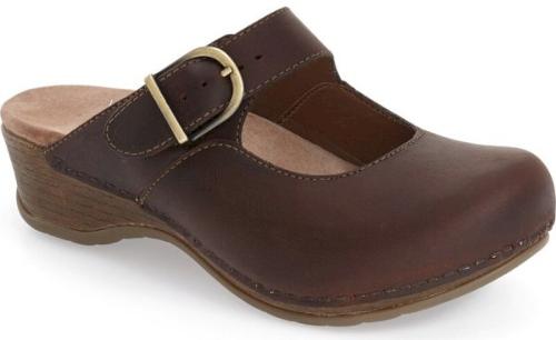 Dansko 'Mart in Brown | Brown Mary Jane