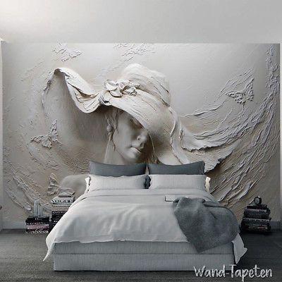 Vlies Fototapeten Wandtapeten Wandbilder 3D-Relief Schönheit Tapete