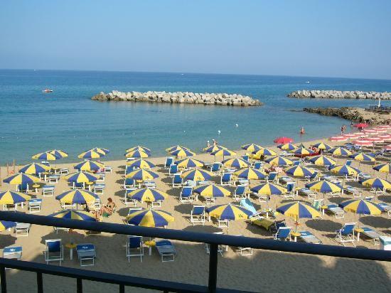 Award winning beach. Santa maria