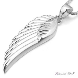 SILBER Anhänger 925 Engel Flügel