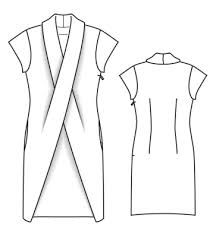 Image result for collar pattern piece