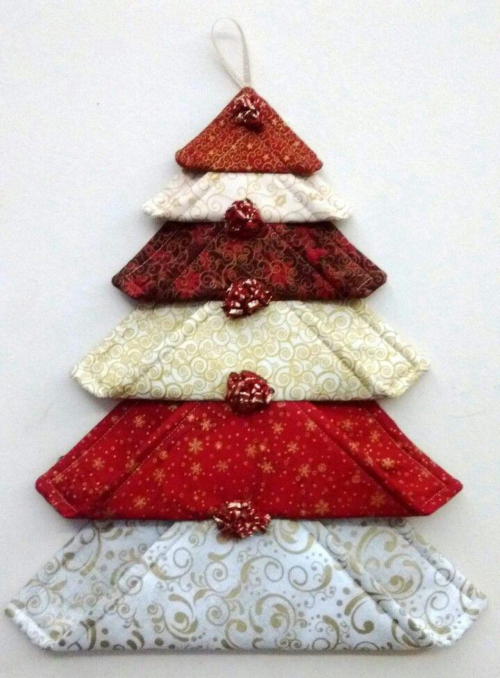 Cute Wall Hanging Idea Christmas Christmas Fabric Fabric