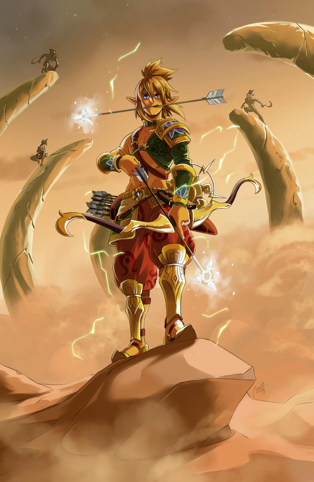Artstation Link The Legend Of Zelda Breath Of The Wild Cynthia Leman Legend Of Zelda Breath Legend Of Zelda Memes Legend