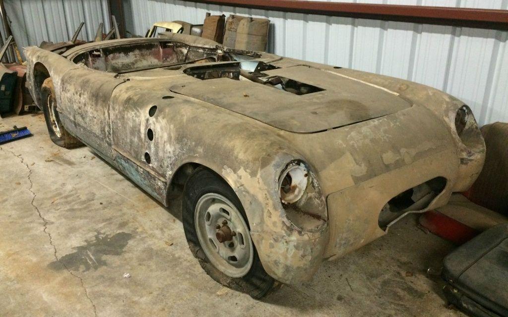 Barn find | Corvette Stuff | Pinterest | Barn finds, Corvette and Cars