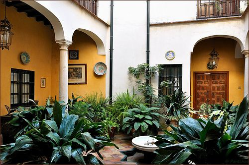 Patio In Seville, Spain