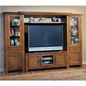 Broyhill Furniture Attic Heirlooms Entertainment Wall | Baer\'s ...
