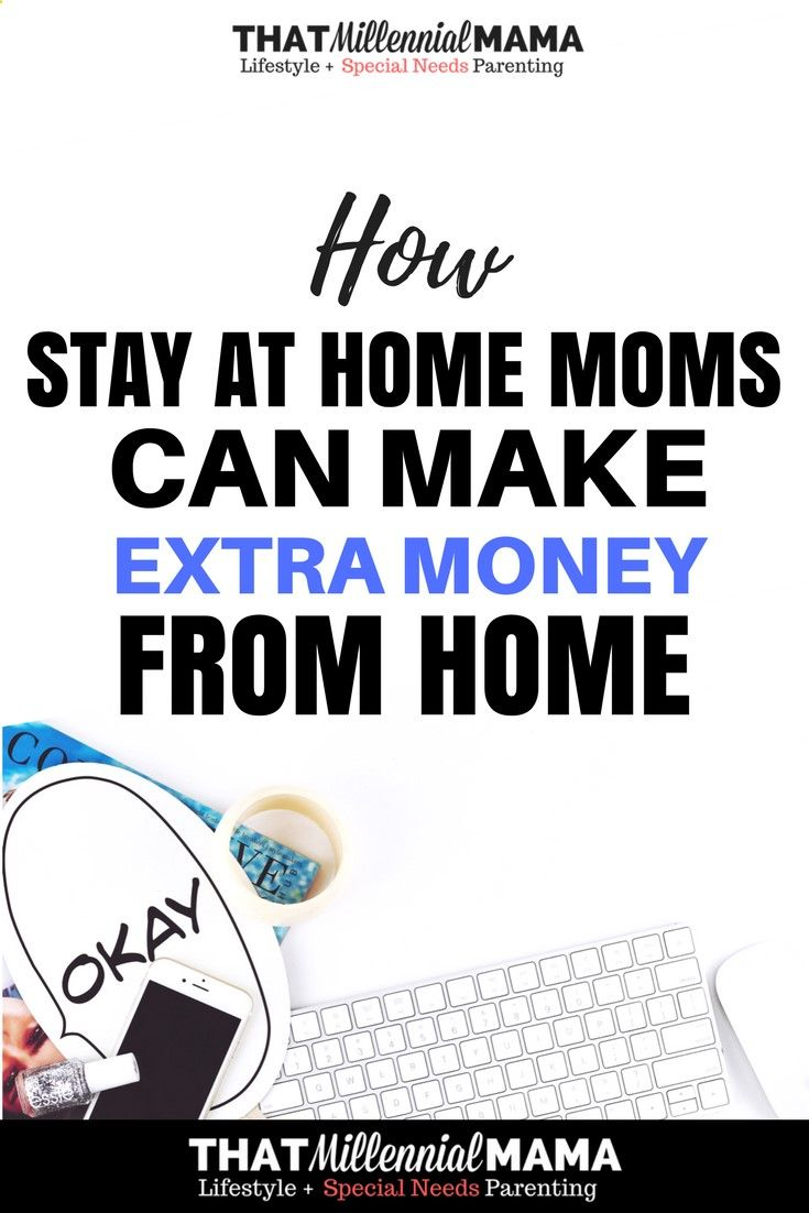 Making Money at Home Writing Online - Stay at home moms, you can ...