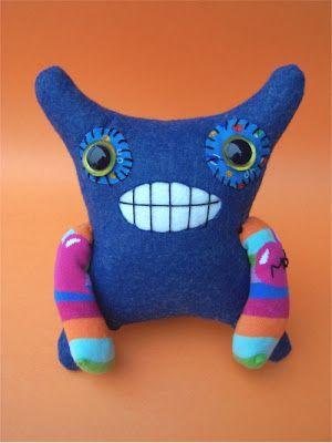 Tutorial: duke kingsley toy softie sewing | Ugly Dolls | Pinterest ...