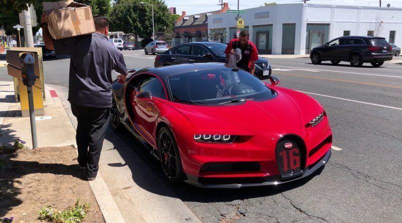 Host24 Space 2019 Bugatti Chiron Sport Perfect Red 4k Sports