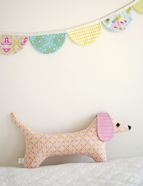 Doxie | Retro, Banners and Patterns
