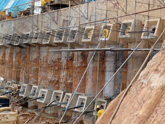 Diaphragm Wall Foundation Google Search Structural Engineering Wood Structures