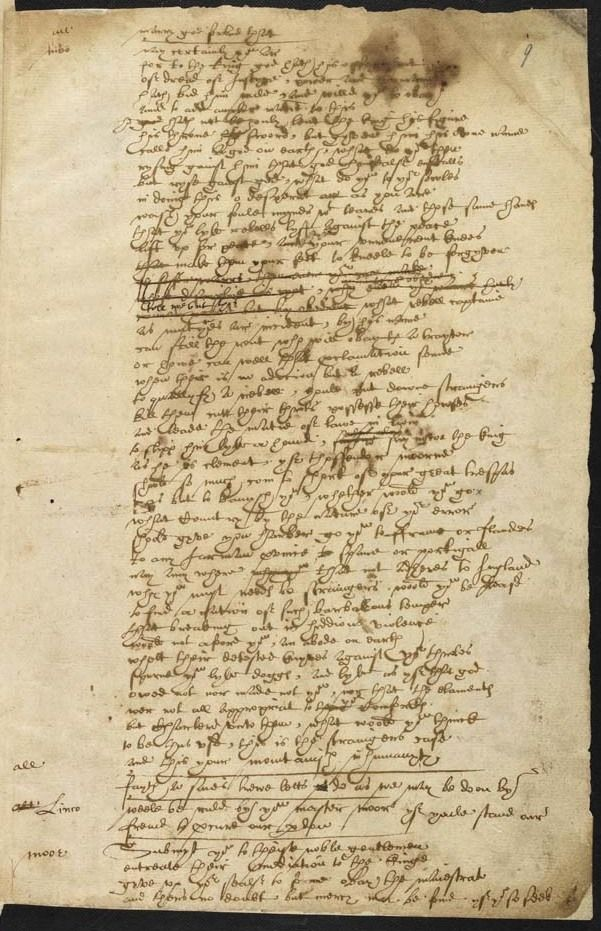 Erik Kwakkel. Shakespeare's handwriting. | Illumination ...