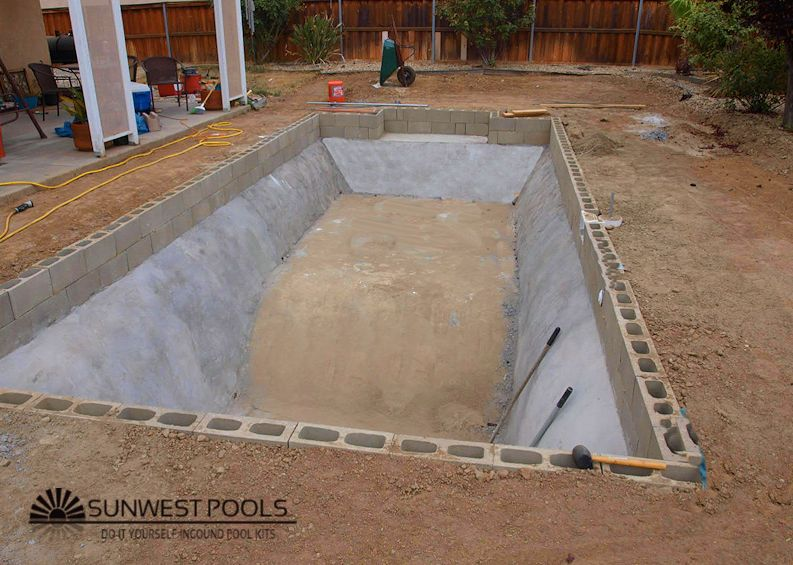Build Your Own Pool And Save With Images In Ground Pool Kits