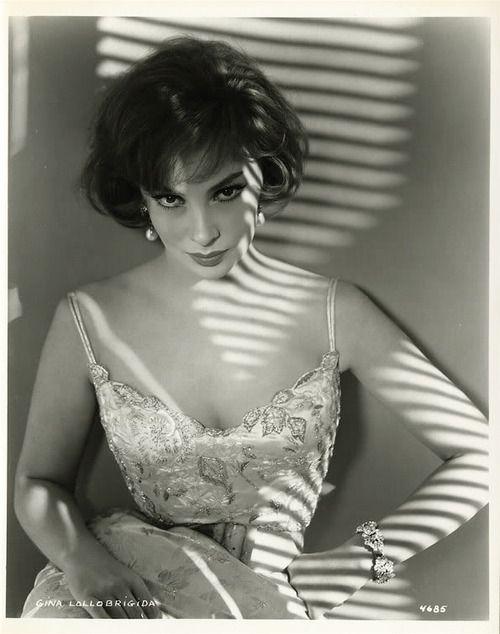 Italian actress, photojournalist and sculptor, Gina Lollobrigida