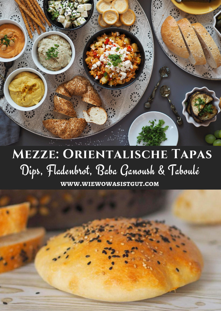 Mezze: Tapas auf Orientalisch - Babba Ganoush & Tomaten-Taboulé - wiewowasistgut.com
