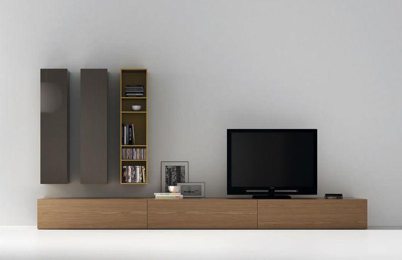 Mueble de salón por módulos | VIVE Ideas para el hogar | Pinterest ...