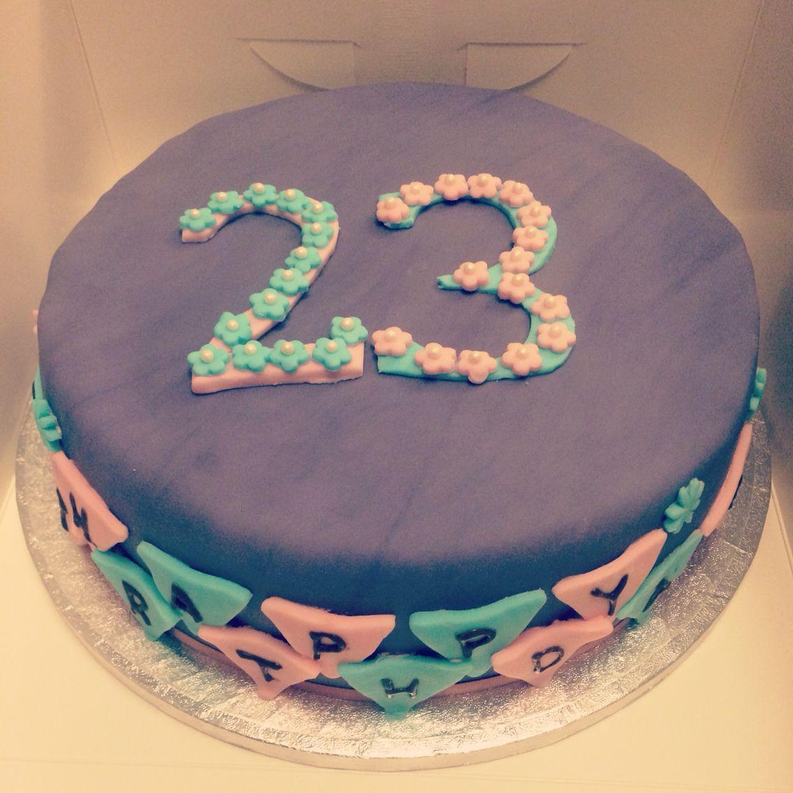 23rd birthday cake 23rd birthday cake women girl