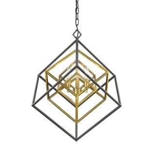 Lighting Euclid 3 Light Chandelier