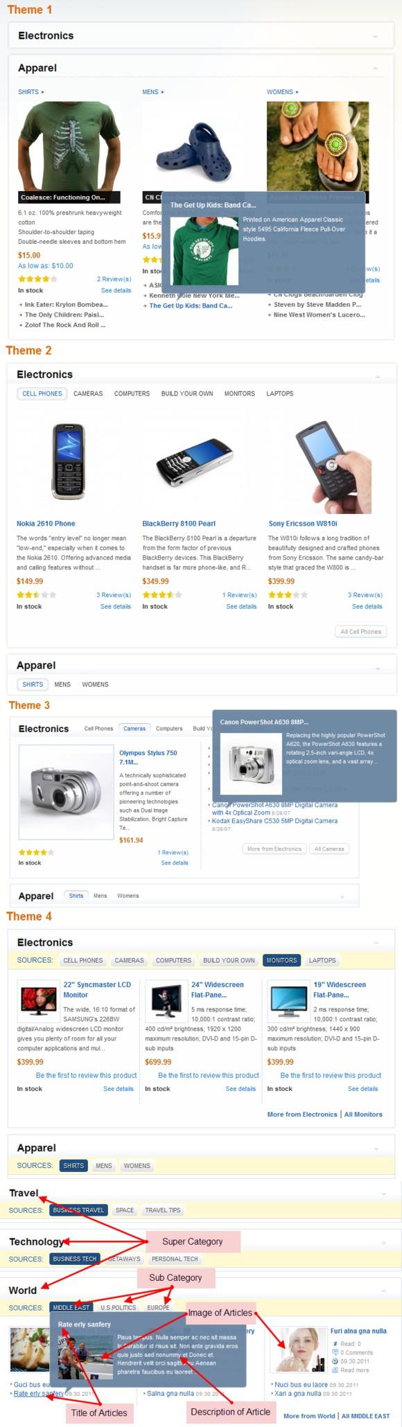SM Mega Products II - Magento Module. Magento Themes. $29.00