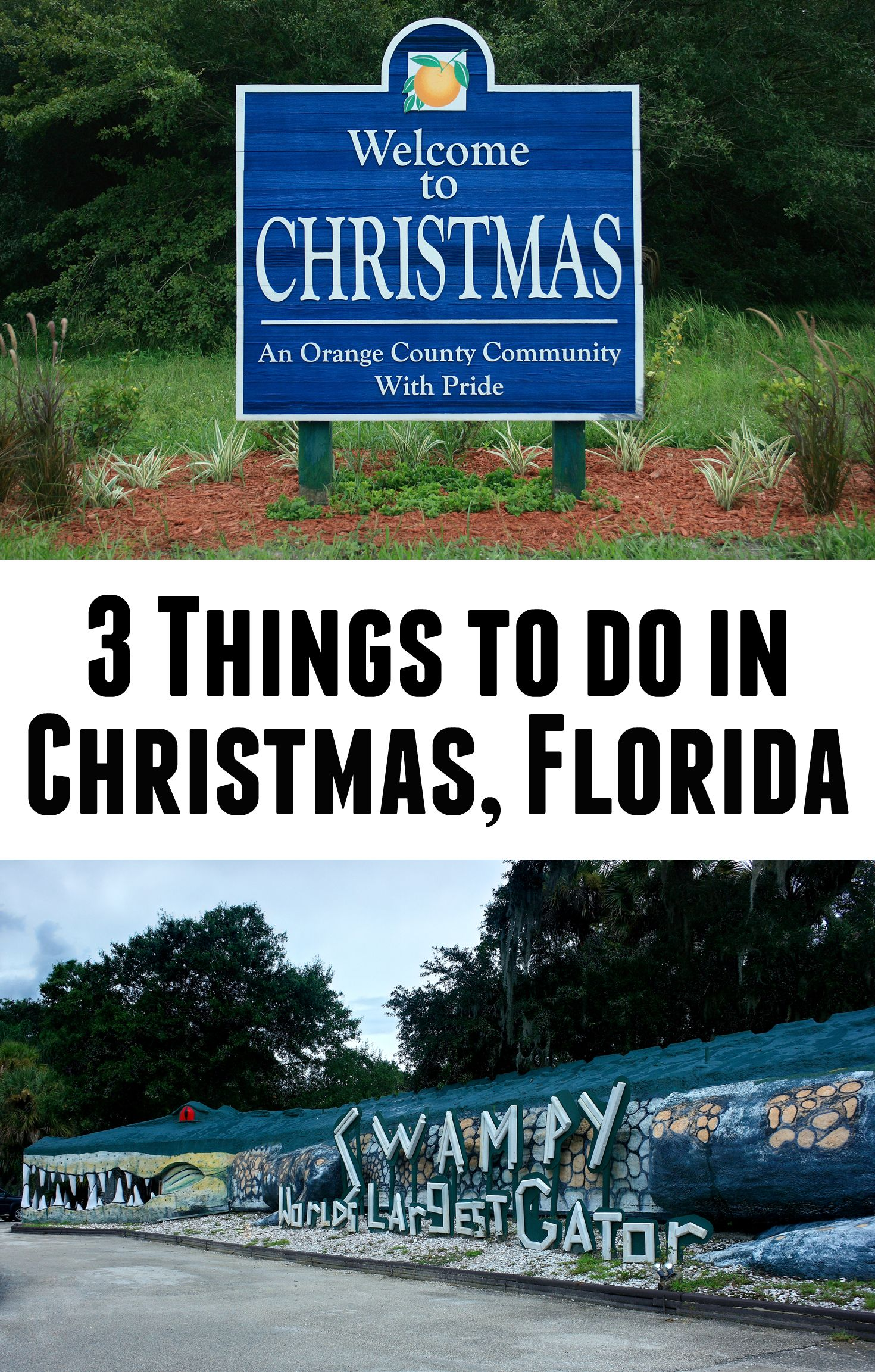 An Afternoon in Christmas, Florida | Christmas florida, United ...