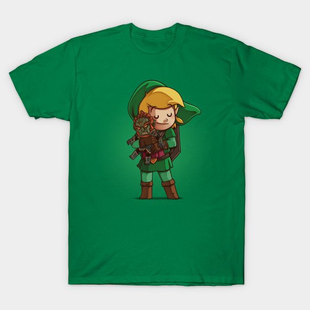 Hylian Hero T-Shirt - Legend of Zelda T-Shirt is $14 today at TeePublic!