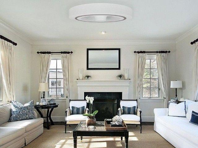 Insolite Un Ventilateur De Plafond Sans Pale Ventilateurs De Plafond De Chambre Deco Appartement Eclairage Du Salon