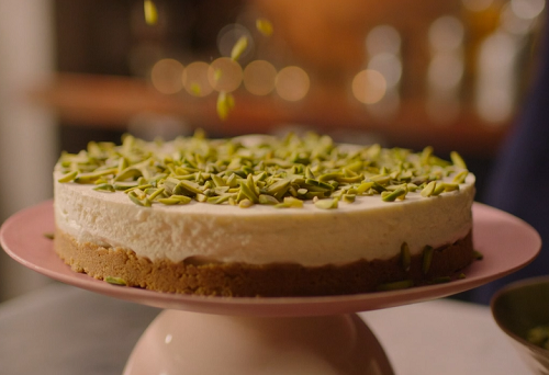 Nigella Lawson White Chocolate Cheesecake With Gingernut Recipe On