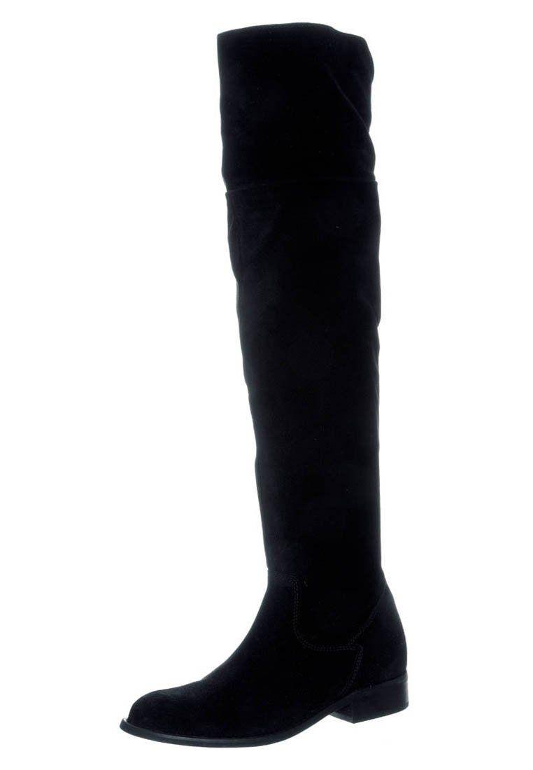 7fdfb0475f2e16 Zign Overknees - black - Zalando.de