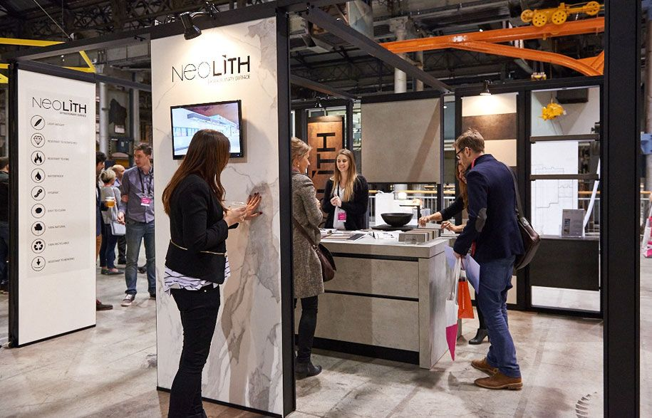 Neolith Expo Designed and Fabricated by Interspace Design