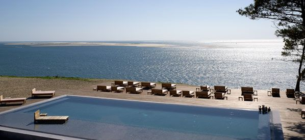 La co o rniche pyla sur mer france hotels pinterest aquitaine and fr - Hotel starck arcachon ...