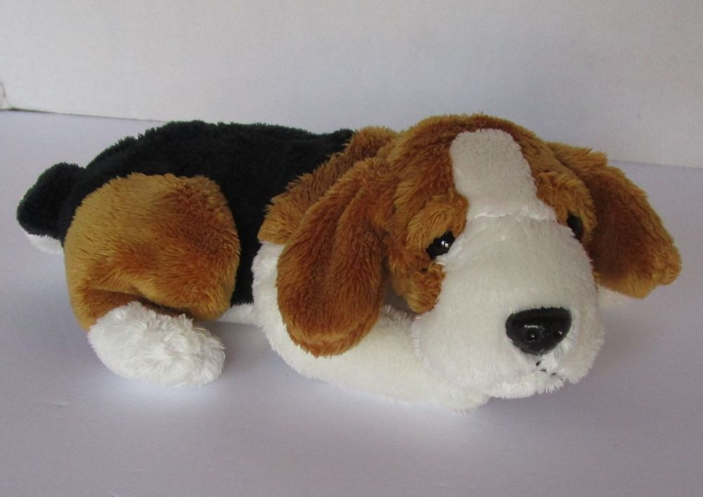 Tangerine Press Beagle Puppy Dog Plush Stuffed Animal Toy 7
