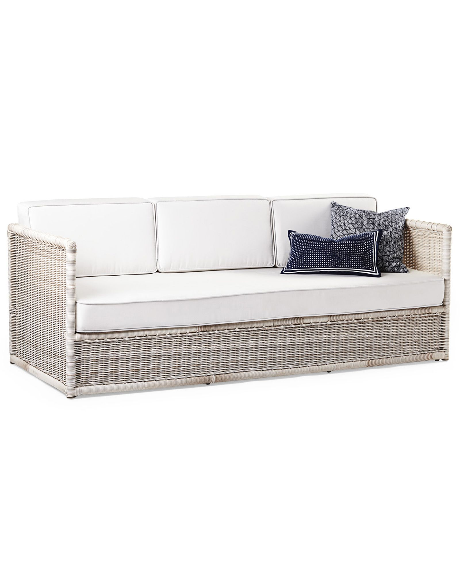 Pacifica Sofa Driftwood Serena & Lily Outdoor