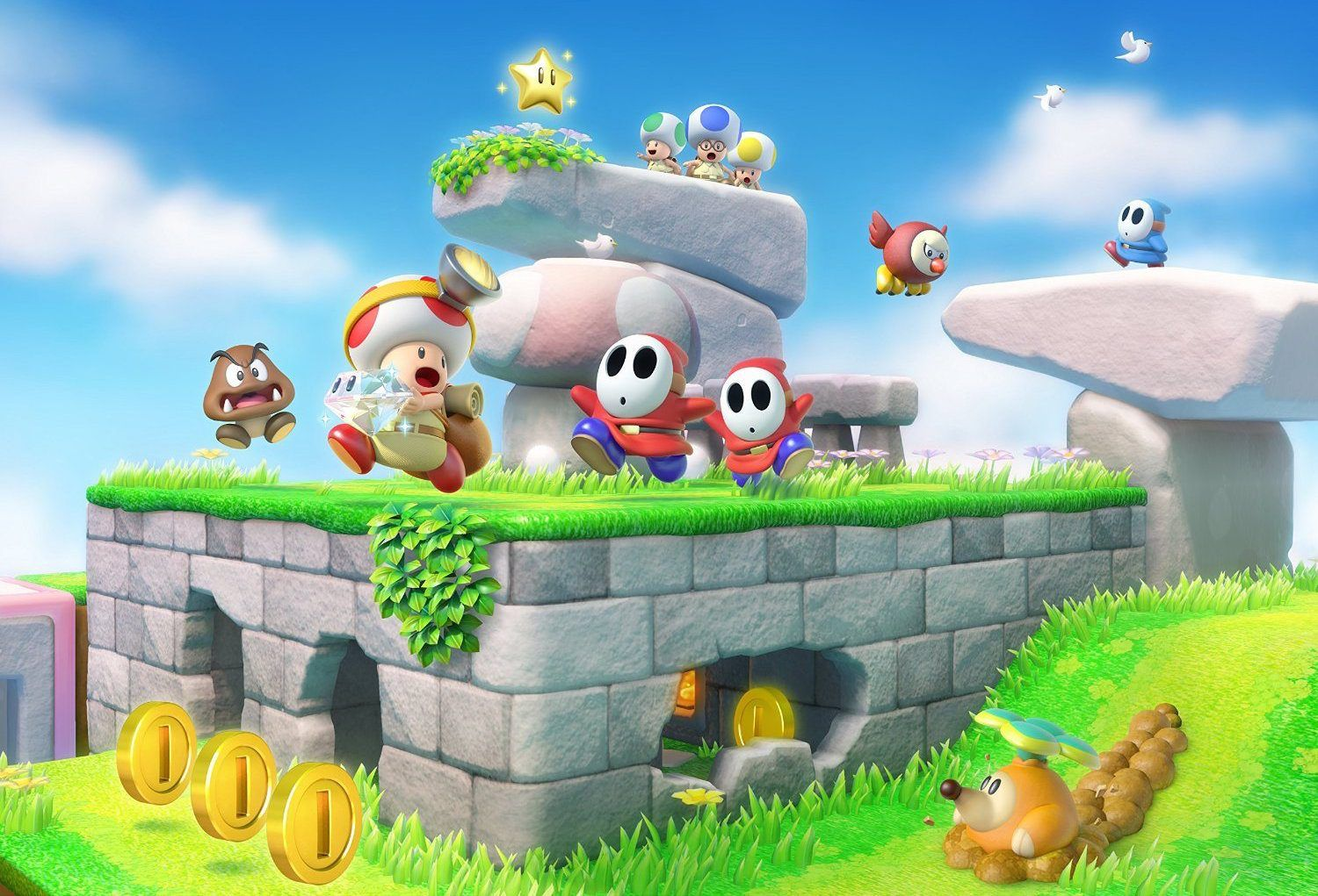 captain toad treasure tracker on wii u sale