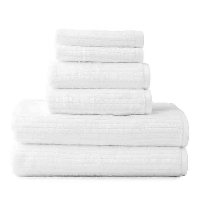 Dri Soft Plus 6 Piece Towel Set Bed Bath Beyond Towel Set