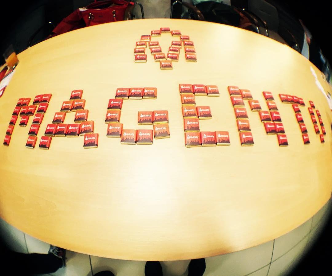 #magento из шоколадок  #meetmagento #mm15by #meetmagentoby #minsk #belarus #amasty #choco #chocolate #chocolates via https://instagram.com/azarchick/